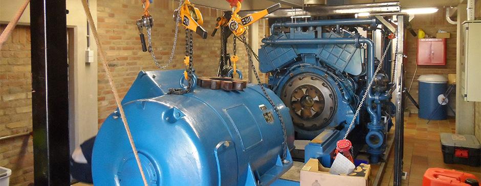 Generator Noodstroom aggregaat service