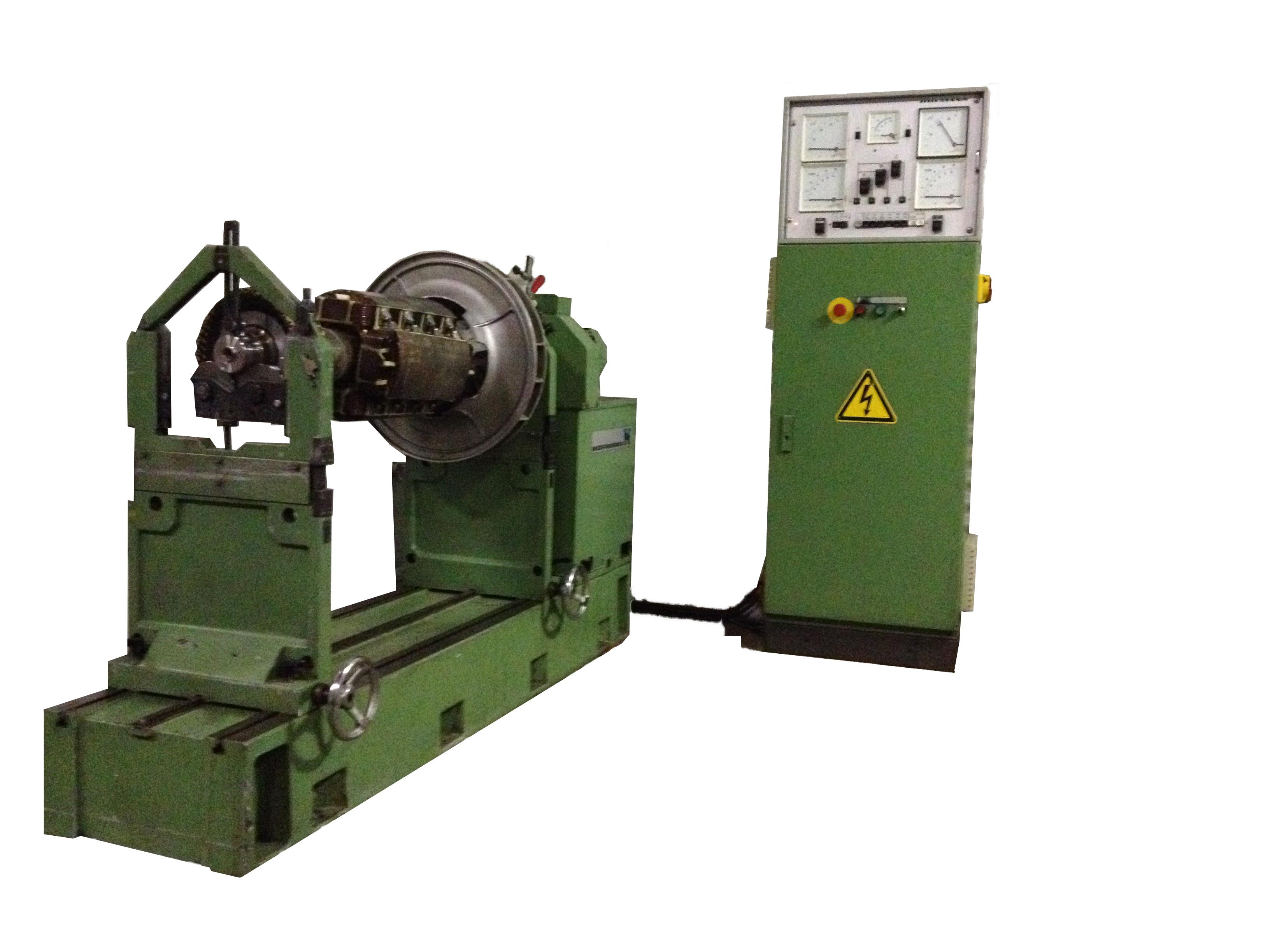 Balanceerbank generator rotor - anker balanceren