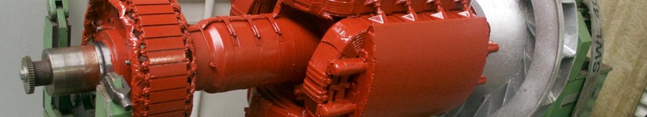 Rotor generator 1400kva gereviseerd
