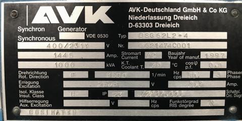 Type plaatje AVK DSG 62L2-4
