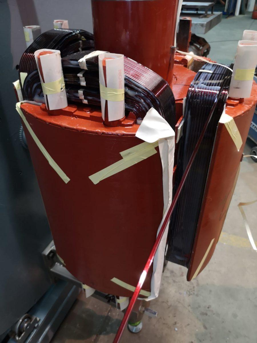 generator rotor 1400 kVA wikkelen